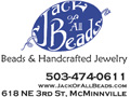 advertisement for Jack of all Beads